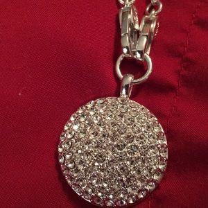 Beautiful Monet Choker Silver w/ stones